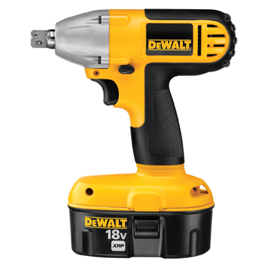 "DeWalt 18V XRP 1/2"" Heavy Duty Impact Wrench Kit"