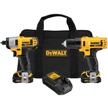 DeWalt 12V MAX Drill/Driver & Impact Driver Combo Kit