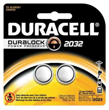 Duracell 3V 2032 Lithium, 2 pack