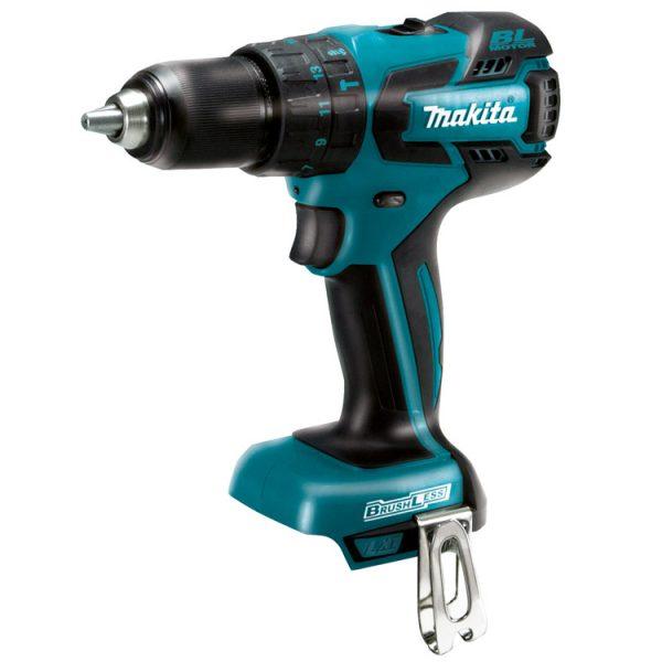 "Makita 18V Lithium-Ion Brushless 1/2"" Hammer Driver-Drill Tool O"