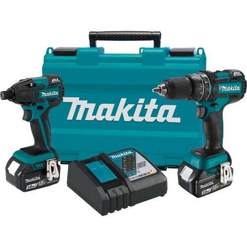 Makita 18V Lithium-Ion Brushless 2PC Combo