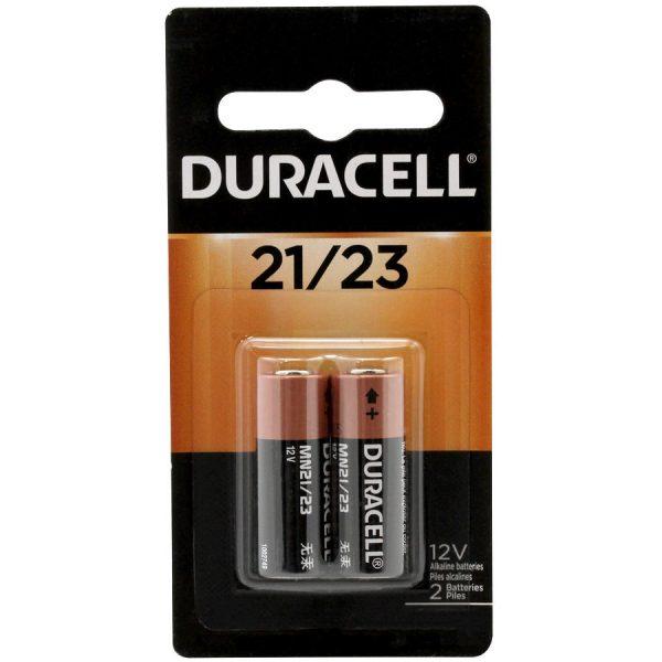 Duracell 12V A23 Alkaline, 2 pack
