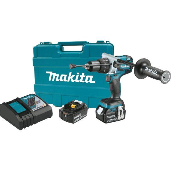 """Makita 18V LXT® Lithium‑Ion Brushless Cordless 1/2"""" Hammer Dr"""