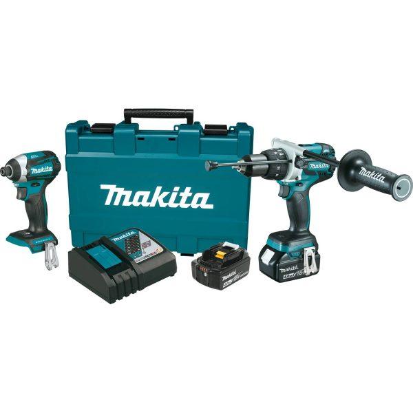 Makita 18V LXT® Lithium‑Ion Brushless Cordless 2‑Pc Combo K